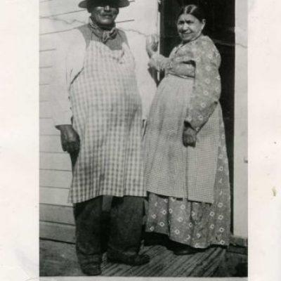 George Crum és Kate Wicks